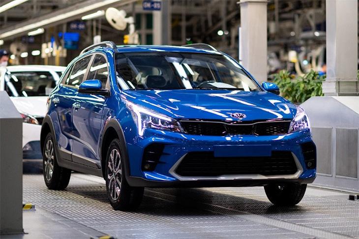 Kia запустила производство обновлённого Rio X