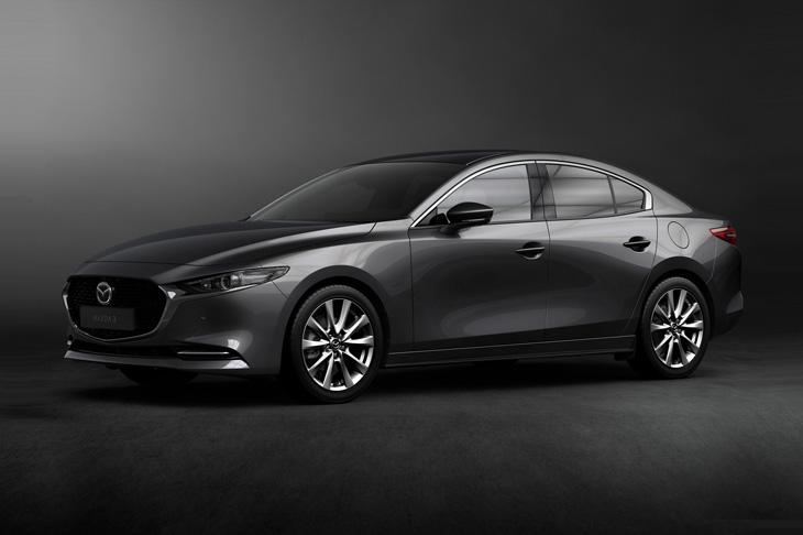 Новый седан Mazda3 цена в России
