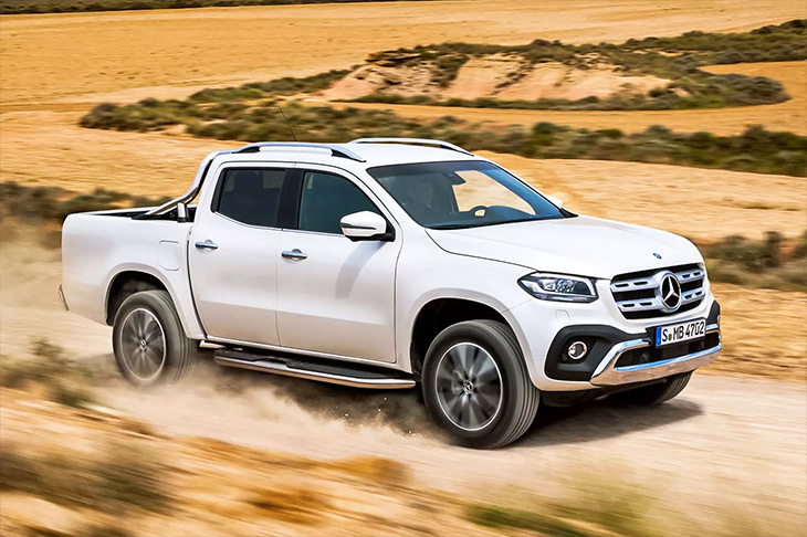 Mercedes отзывает минивэны и пикапы в России