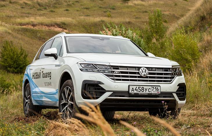 Volkswagen отзывает Touareg Audi Q7 и Q8