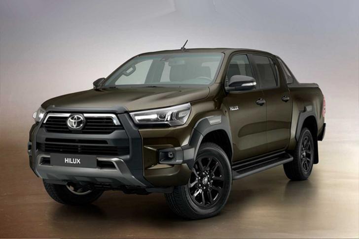Дебютировал обновлённый пикап Toyota Hilux