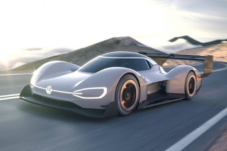 Гоночный прототип VW I.D. R. Pikes Peak покажут 22апреля