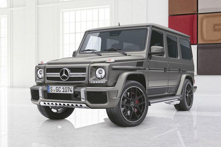 Benz Geländewagen получил две новые роскошные версии