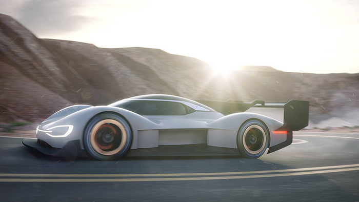 В VW поведали опервом вистории спортивном электрокаре
